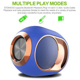 Portable Wireless Bluetooth Super Bass Stereo Surround Sound FM Radio TF Speaker