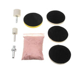 8pcs 240g Cerium Oxide Glass Scratch Polish Polishing Repair Remover Powder Kit