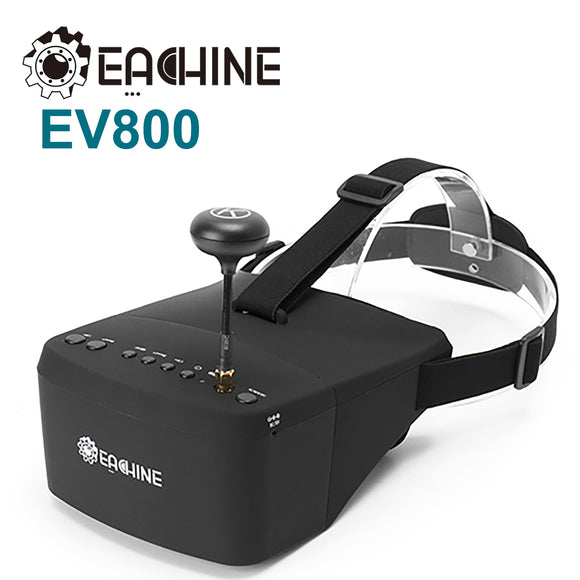 Eachine EV800 5.8G 40CH 5'' 800x480 RC Camera Racing VR Video FPV Drone Goggles