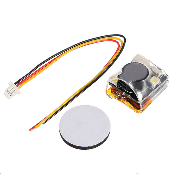 Finder 100dB Loud Buzzer Sound Tracker Locator LED for Racing RC Drone Airplane