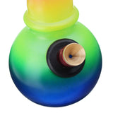 Colourful Hookah Water Glass Pipe Shisha Herb Tobacco Smoking Smoke Fitter Bong