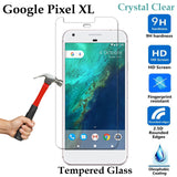 Premium 9H Tempered Glass phone screen protector for Google Pixel XL Front