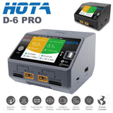 HOTA D6 Pro AC 200W DC 650W 15A Wireless RC Lipo Lithium NiMH Battery Charger