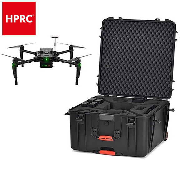 HPRC 4600W Waterproof Wheeled Hard Protective Case Carry Bag for DJI Matrice 100
