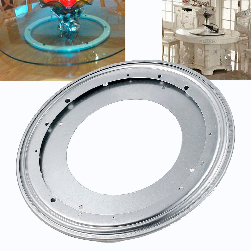 12 Heavy Duty Metal Bearing Rotating Swivel Turntable Tv
