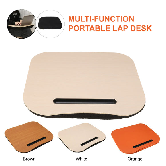 Portable Laptop iPad Tablet Phone Book Reader Cushion Pillow Lap Desk Rest Tray