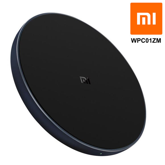 Xiaomi 10W Qi Wireless Fast Charger Charging Pad Mat Dock Stand iPhone Samsung WPC01ZM