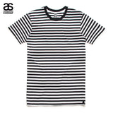 AS Colour ASColour Print Mens Blank Plain Staple Black Stripe T-Shirt Tee Cotton 5028