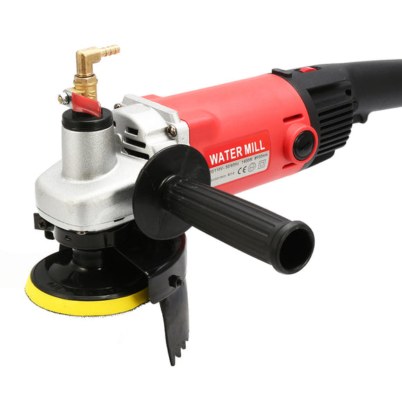 Raitool 1.4KW Electric Wet Polisher Polishing Stone Concrete Marble Grinder Kit