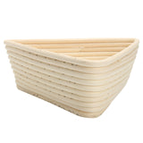 Triangle Banneton Brotform Rattan Bread Rising Proofing Proving Dough Basket