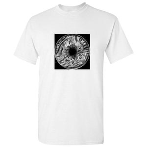 Black Dark Void Universe Eye Marble Art White Men T Shirt Tee Top S - 5XL