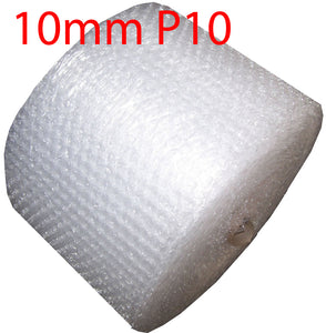 NEW 10mm P10 Bubbles 500mm x 100M meters Bubble Wrap Roll clear Polycell