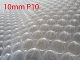 NEW 10mm P10 Bubbles 300mm x 100M meters Bubble Wrap Roll clear Polycell