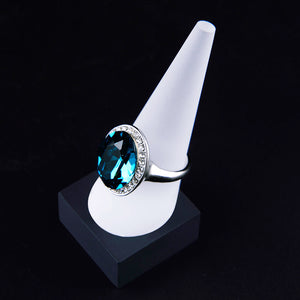 1/3/5/10 Solid White Frosted acrylic cone finger ring jewellery display stand holder showcase organiser