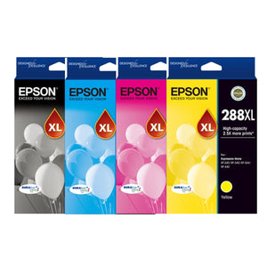 GENUINE Epson 288XL 4 Color Ink Value Pack Cartridge XP-240 XP-340 XP-344 XP-440