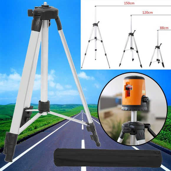 1.5M Universal Adjustable Laser Air Level Measure Dumpy Levelling Tripod Stand