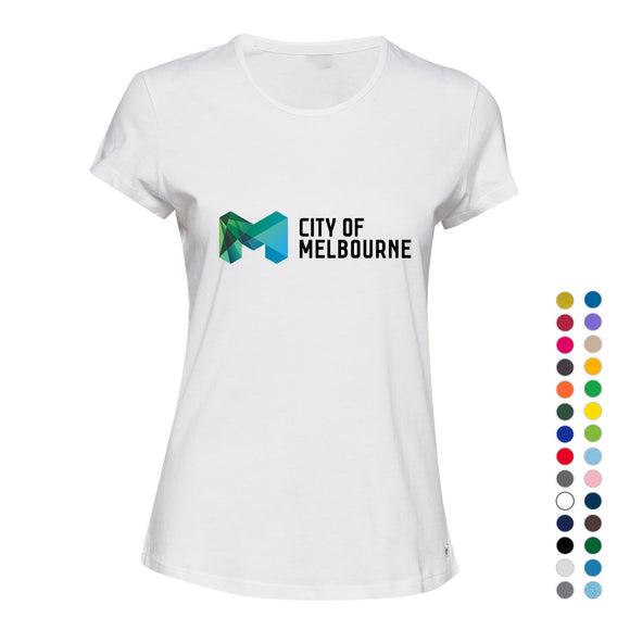 City of Melbourne Victoria Australia Love Art Gift Ladies Women T Shirt Tee Top