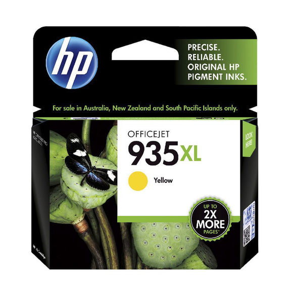 GENUINE Original HP 935XL Yellow Ink Cartridge OfficeJet 6230 6820 C2P26AA-2