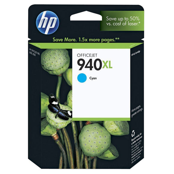 GENUINE Original HP 940XL CYAN Ink Cartridge Toner Officejet CB092A C4907AA