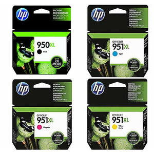 GENUINE Original HP 950XL 951XL 4 Colours Value Pack Ink Cartridge OFFICEJET