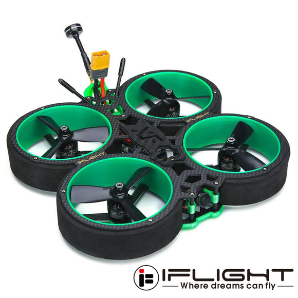 iFlight Green Hornet 3'' CineWhoop 4S FPV Mini RC Racing Drone Quadcopter BNF