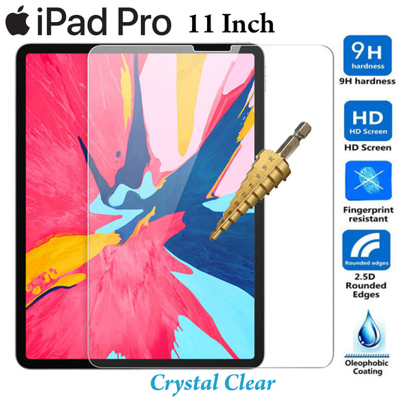 Full 9H Tempered Glass Apple iPad PRO 11 inch screen protector Guard 2018 2019 2020