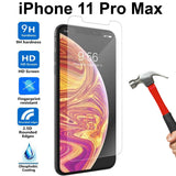 Tempered Glass 9H Guard screen protector for Apple iPhone 11 PRO MAX front + Back