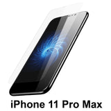 Apple iPhone 11 PRO MAX clear case cover and 4H anti-scratch front screen protector