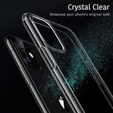 Apple iPhone 11 TPU Slim transparent crystal clear bumper cushion back case cover