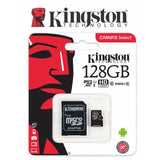 Kingston 128GB micro SD SDXC Class 10 UHS-I 45R Flash Memory Card Mobile Camera