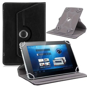 Universal 360 Degree Leather Case Cover Flip Stand Wallet for 7 to 8 inch Tablet PC Pad