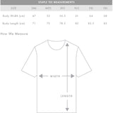 AS Colour T-SHIRT Blank Plain Print Staple Tee S - 5XL Small Big Men's Cotton 5001 Coal