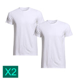 Bonds Multi Pack Crew Neck Raglan Blank Plain Basic Mens White T‑shirt Tee Top M9372W