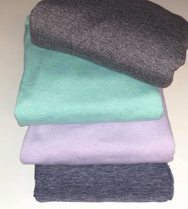 Brushed Poly Heathered Solids