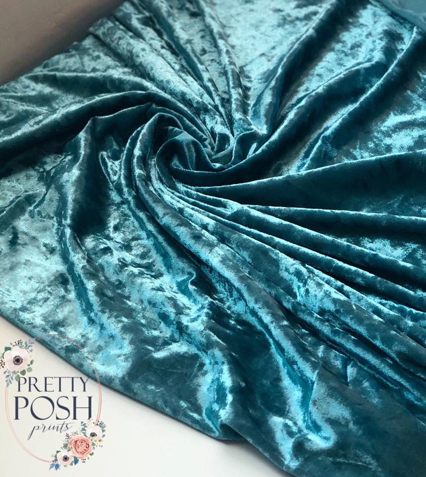Stretch Velvet Solids