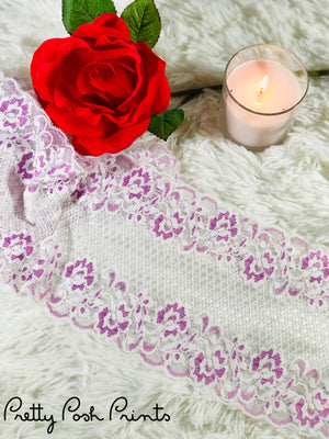 Tease Pink Lingerie Stretch Lace