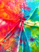 Load image into Gallery viewer, Summer Party Tie Dye Brushed Poly Spandex