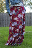 Fall flowers Rayon Spandex
