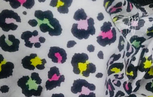 Neon Leopard French Terry