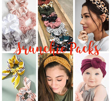 Load image into Gallery viewer, Scrunchie/Headband/Cuff Scrap Packs