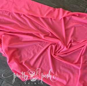Neon Pink French Terry
