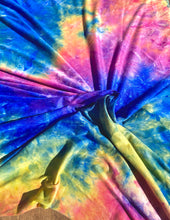 Load image into Gallery viewer, Laguna Beach Tie Dye Brushed Poly Spandex