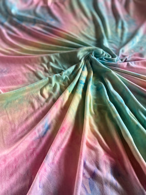 Midsummer Love Tie Dye Brushed Poly Spandex