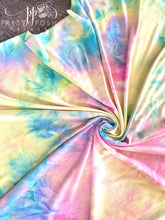 Load image into Gallery viewer, Midsummer Love Tie Dye Brushed Poly Spandex