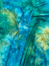Load image into Gallery viewer, Rainforest Waterfalls Tie Dye Brushed Poly Spandex