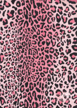 Load image into Gallery viewer, PinkPop Leopard Rib Brushed Poly Spandex