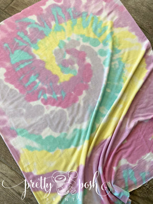 Pastel Swirl French Terry