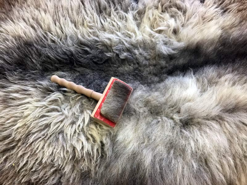 Why You Should Brush Your Sheepskin Rug Regularly