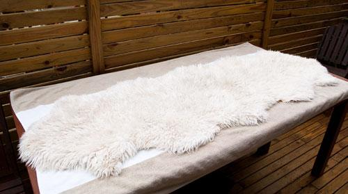 How to Dry a Sheepskin Rug