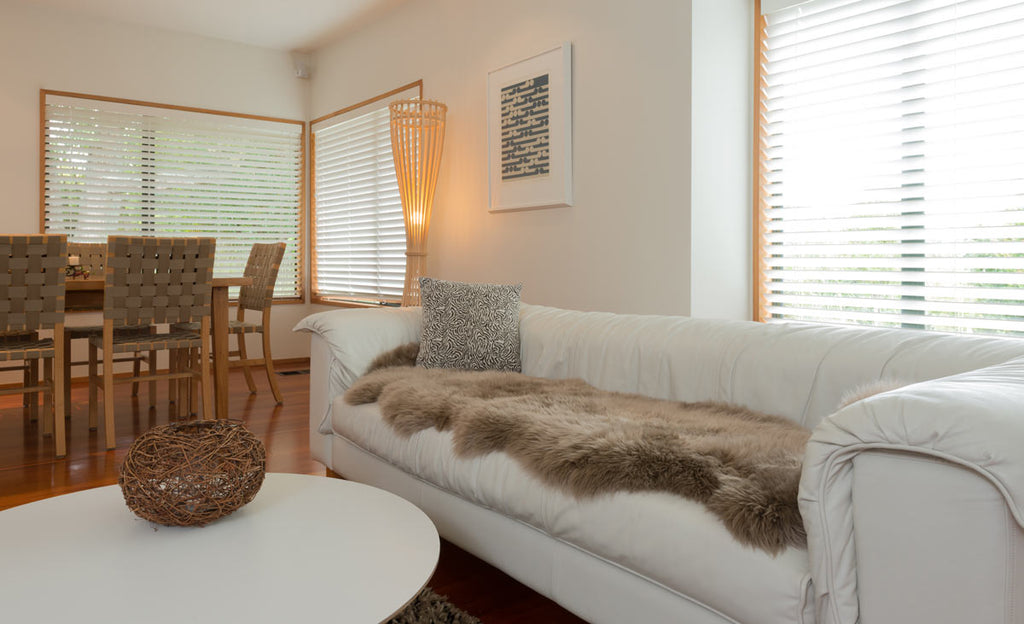 Many Ways to Use a Sheepskin Rug in Your Home